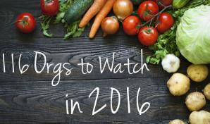Food Tank orgs to watch