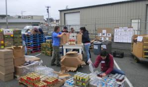 Food relief resources available to fire evacuees