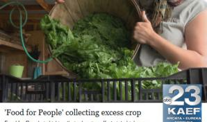 Food for Peoples Gleaning Program on Northcoast News