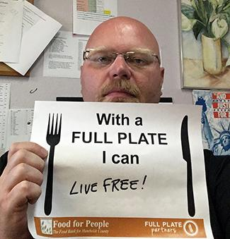 With a Full Plate I can live free!