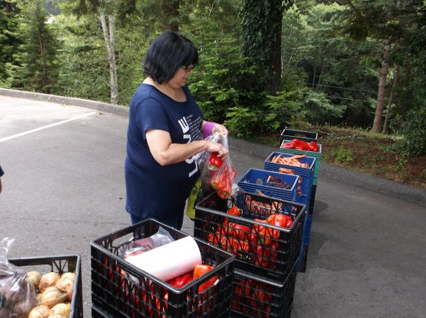 Mobile Produce Pantry